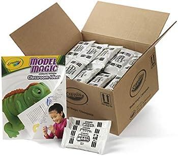 75-Pack Crayola Model Magic White Clay Classpack