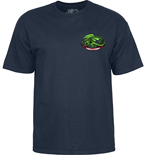(Powell-Peralta Oval Dragon Navy x Large T-Shirt)