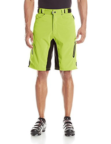 ZOIC Men's Ether Cycling Shorts, Atomic, Medium