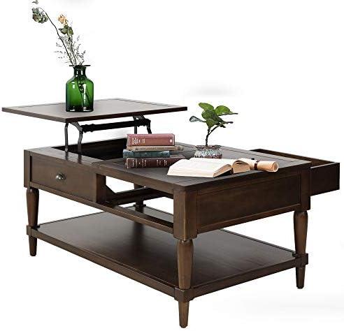 Binrrio Modern Lift Top Coffee Table