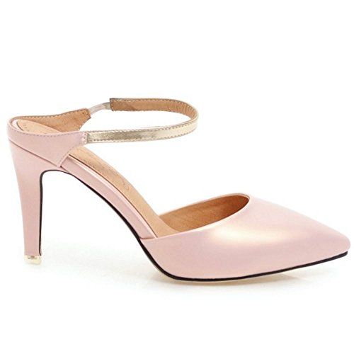Sandalias Mules Coolcept Pointy Mujer Pink Moda qx8fp8wS