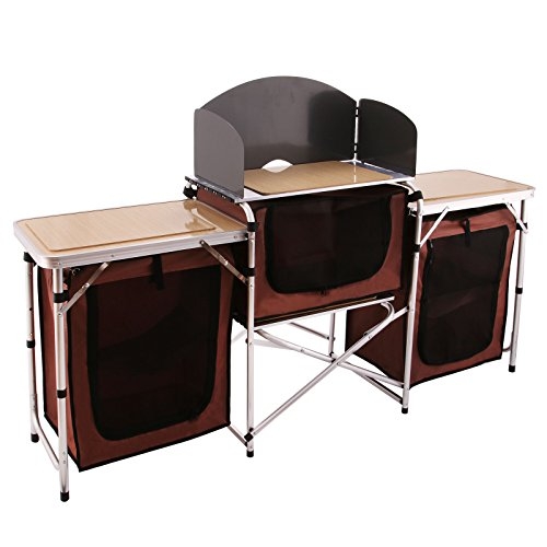 Camping Kitchen Tables Happybuy portable camping kitchen table multifunctional camping happybuy portable camping kitchen table multifunctional camping kitchen workwithnaturefo
