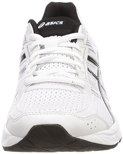 Deporte Black Classic para Gel White Contend 4 0123 Blanco Red Hombre Zapatillas de Asics wZ7XqCgxg