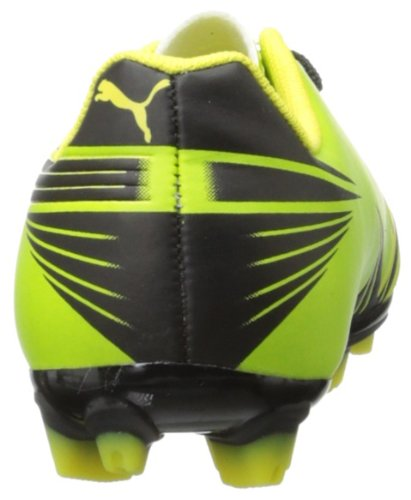 PUMA Attencio II I FG Firm Ground Jr Soccer Cleat (Little Kid/Big Kid),Lime Green,4 M US Big Kid