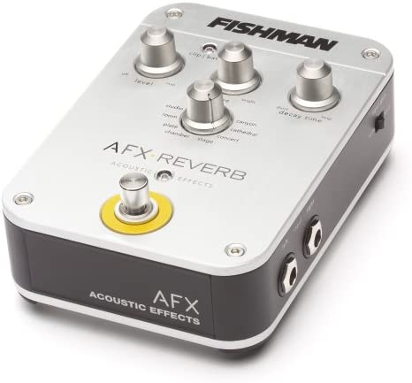 Fishman AFX Acoustic Reverb Effects Pedal