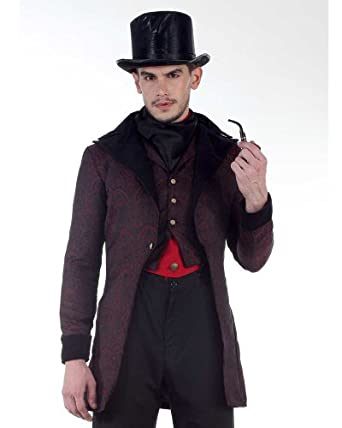 Men's Steampunk Jackets, Coats & Suits Steampunk Victorian Dorchester Tailcoat Costume  AT vintagedancer.com