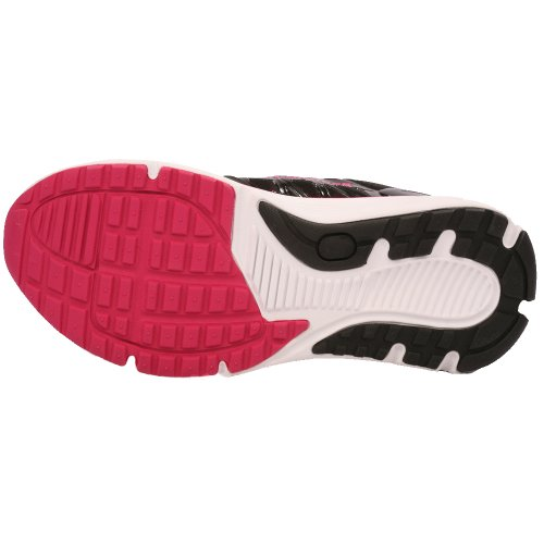 Hylan iRunner Sophia Womens Therapeutic Athletic Extra Depth Shoe Leather-and-Mesh Lace - Black and Pink -9.5 Wide (D) Black/Pink Lace US Woman BNsvEc8