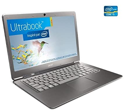 Acer Aspire S3-951-2464G34iss - Ordenador portátil (i5-2467M, Touchpad