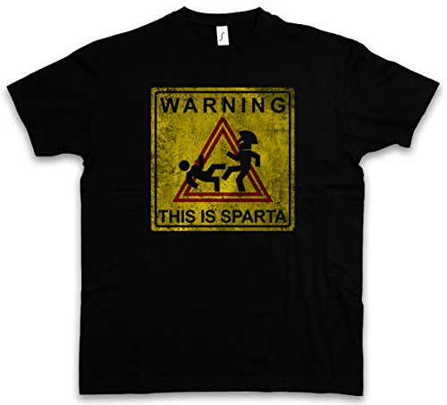 WARNING THIS IS SPARTA SIGN T-SHIRT