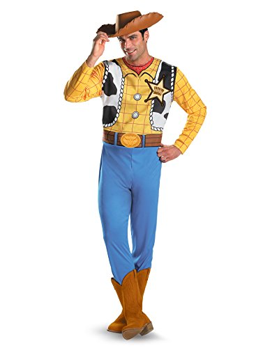 Toy Story Movie Costumes Woody Cowboy Costume Cartoon Costume Mens Sizes: (Cowboy Costume Ideas For Men)