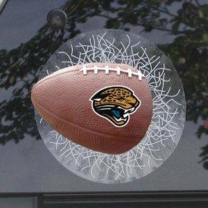 Jacksonville Jaguars Sportz Splatz Window Decal (Window Splatz Sportz)