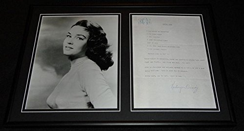 Kathryn Crosby Signed Framed Vintage Toffee Bars Recipe & Photo (Toffee Recipe)
