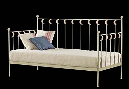 Sofa-Cama de forja Mod. LUNA de 201X100X96cms.: Amazon.es: Hogar
