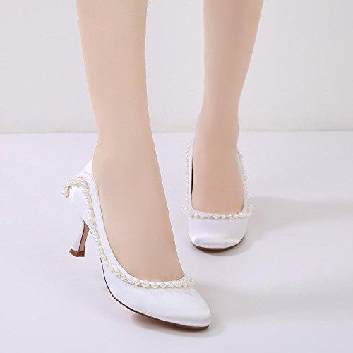 17061 T High Elegante L De Chunky Slip Rhinestones Purple Toe Top On 42 Low yc Round Court Mujer Heel t1q1HEwX