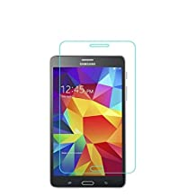 DETUOSI® Samsung Galaxy Tab E 8.0 Tempered Glass Screen Protector Film,[Anti-fingerprint][9H Tempered Glass Technology] Film Protector for Samsung SM-T377 /T377R/T377W 8 Inch Tablet