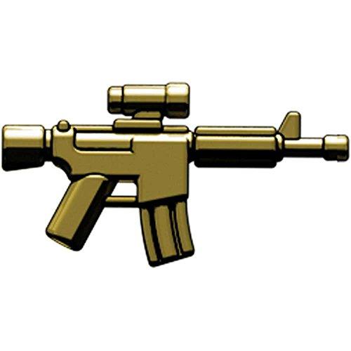 BrickArms 2.5 Scale LOOSE Weapon ARC Advanced Recon Carbine Brass