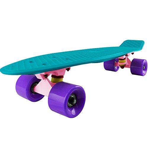 Cal 7 Mini Cruiser Skateboard Complete 22 Inch