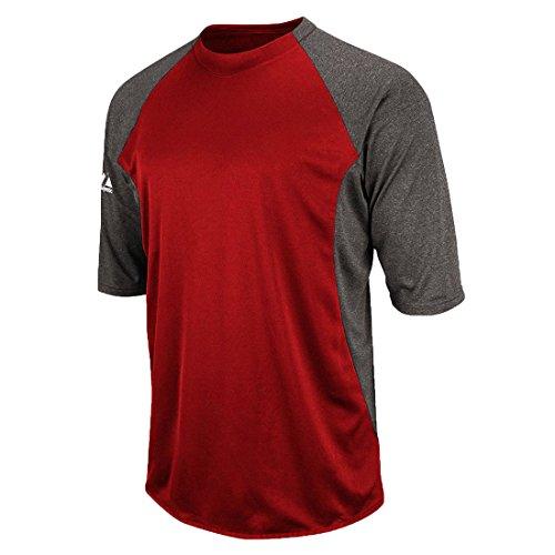 Featherweight Tech Fleece (Medium, Red/Grey)