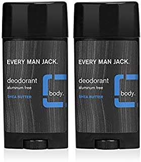 product image for Every Man Jack Deodorant - Shea Butter | 2.7-ounce Twin Pack - 2 Sticks Included | Naturally Derived, Aluminum Free, Parabens-free, Pthalate-free, Dye-free, and Certified Cruelty Free