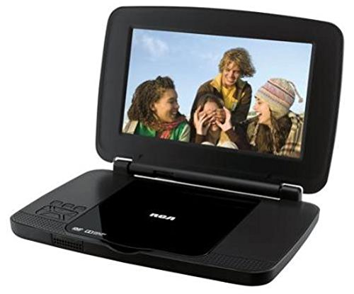 RCA DRC99392E 9-Inch Portable DVD Player with Rechargeable B