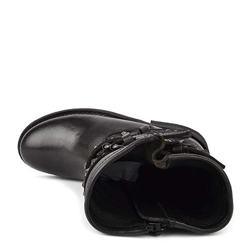 Black Cenere Calzature Nero Borchie Boot Tentare IzCqT