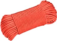 100 FT (31 Meters) 10 Stand 650lb Paracord 4.1mm Paracord Lanyard Rope Outdoor Rescue Tent Hiking Parachute Co