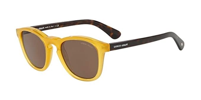 Armani Giorgio 0AR8112, Gafas de Sol para Hombre, Honey, 50 ...