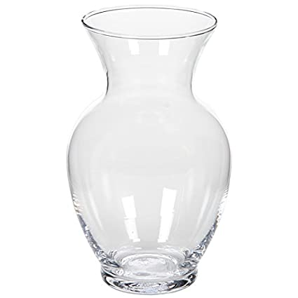 Amazon Hosley 86 High Clear Floral Rose Glass Vase Ideal For