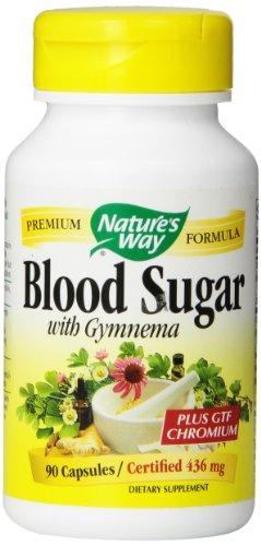 Way sucre dans le sang de la nature avec Gymnema, 90 capsules