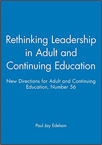 New directions for adult and continuing education thanks