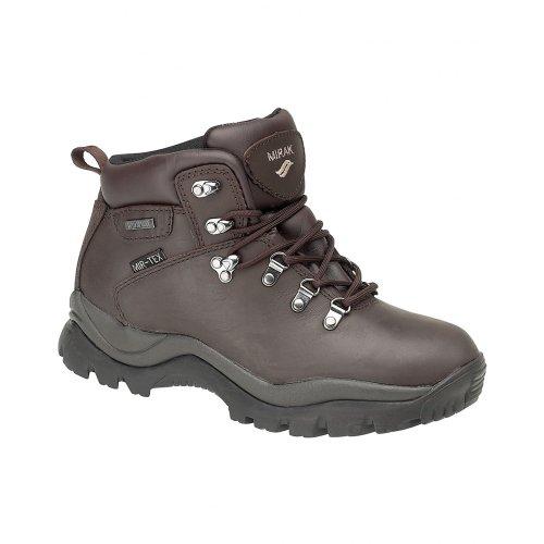 Mirak Nebrasaka Herren Trekking-Schuhe / Wanderstiefel / Wanderschuhe Braun