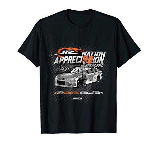 - Dale Earnhardt Jr. 88 Jr Nation Appreciation Tour #3 T-Shirt