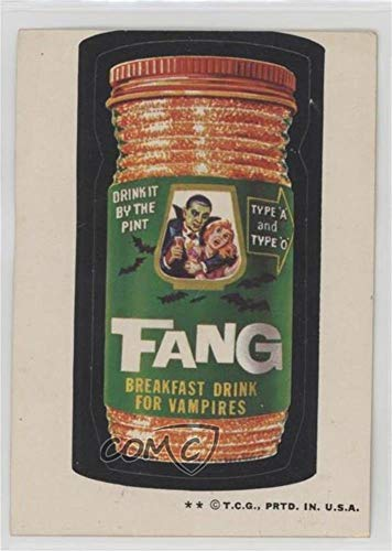 (Fang Ungraded COMC Poor to Fair (Trading Card) 1973 Topps Wacky Packages Series 4 - [Base] #NoN )