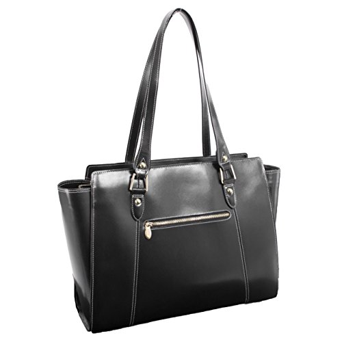 McKleinUSA ALDORA 97505 Black Leather Women's Business Tote by McKleinUSA (Image #1)