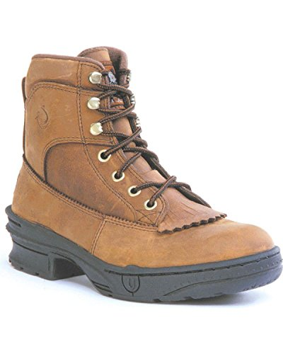 Roper Womens Crossrider Brown Crazy Horse Leather 6in Kil...