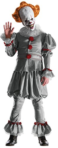Adult Pennywise Clown Costumes - Rubie's Men's Grand Heritage Pennywise, as