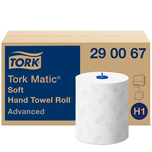Tork Matic – papieren handdoeken (Wit, EU Ecolabel SE/04/01, H1)