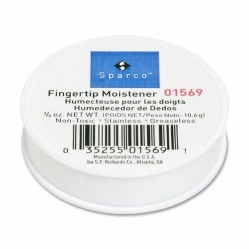 Sparco 01569 Fingertip Moistener,Odorless,Greaseless,Hygienic,3/8 oz. ()