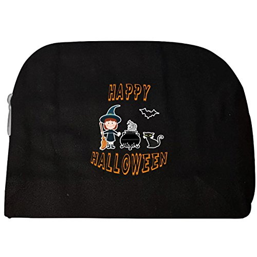 Witch Cauldron Handbag (Happy Halloween Witch And Cauldron - Cosmetic Case)
