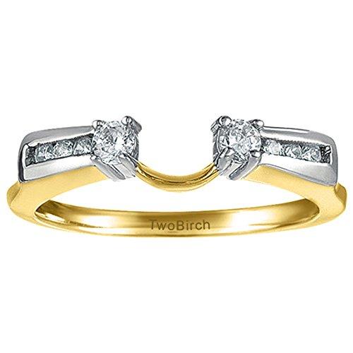0.31 Ct Princess Diamond - 8