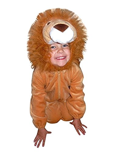 Dance Costume Jungle Ideas (Fantasy World Lion Halloween Costume f. Children/Boys/Girls, Size: 5,)