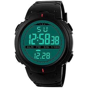 DRITON Driton Digital Green Light Multi-Functions Sporty Watch Digital Men's Watch (Multicolored Dial, Multicolored…