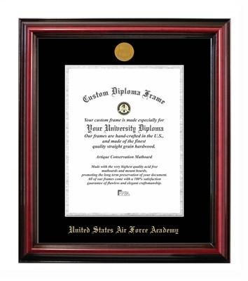 United States Air Force Academy Affordable Certificate Frame