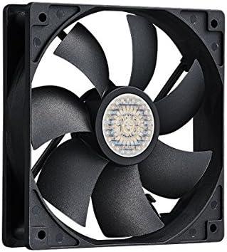 Cooler Master Silent Fan SI1 - Ventilador de PC (19,8 Db, Negro, 0 ...
