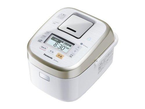 Panasonic W dance cook steam & variable pressure IH jar rice machine 1.0L 0.5 ~ 5.5 Go White SR-SPX104-W