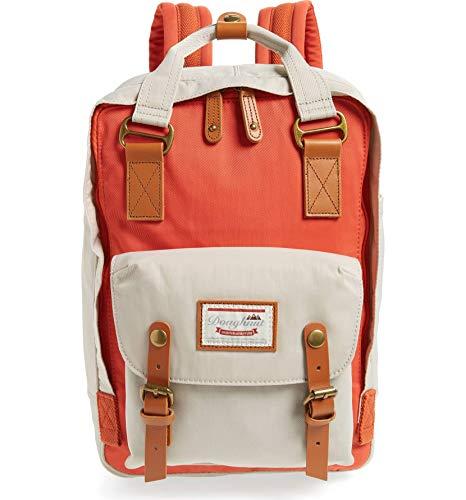 Doughnut Macaroon Backpack (Pumpkin X Ivory)