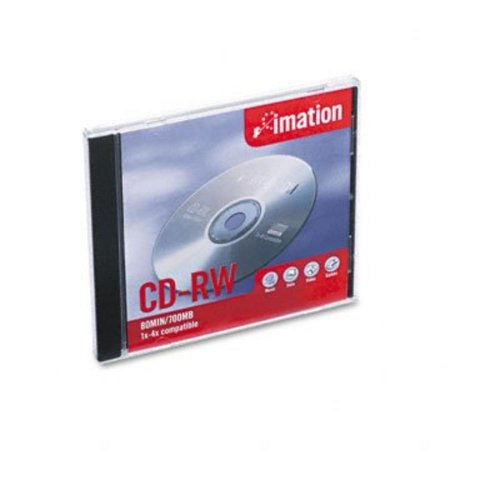 Imation 4x Cd-rw Media 700 Mb 120mm Standard-10 Pack Jewel Case from Ultra Digital