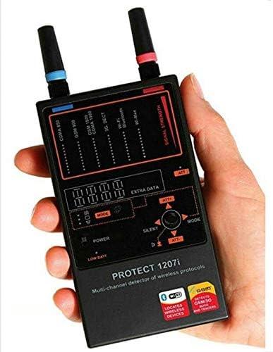 Gama Completa Anti Spy Detector Cámara de múltiples Canales Lente de Audio Finder Signal GPS RF Tracker Scanner Identificación precisa