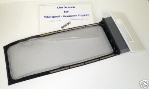 Price comparison product image Supco DE526 Dryer Lint Screen Replaces W10717210,  348851,  689465,  8557857,  8557882,  8559787,  8565972,  W10641634