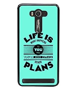 Fuson Designer Back Case Cover for Asus Zenfone 2 Laser ZE550KL (5.5 Inches) (100% honest love you forever )
